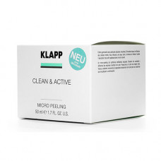 Klapp Микропилинг CLEAN & ACTIVE Micro Peeling, 50 мл (Klapp, Clean & active)