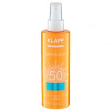 Klapp Солнцезащитный спрей для тела Immun Sun Body Protection Spray SPF50, 200 мл (Klapp, Immun)
