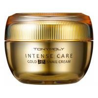Крем для лица с экстрактом улиточного муцина и золота Intense Care Gold 24K Snail Cream 45мл