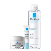 La Roche-Posay Набор Nutritic Intense Riche 50 мл + Hydraphase Eyes 15 мл + Micellar water 200 мл (La Roche-Posay, Nutritic)