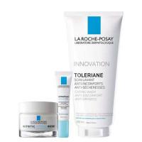 La Roche-Posay Набор Nutritic Intense Riche 50 мл + Hydraphase Eyes 15 мл + Toleriane gel 200 мл (La Roche-Posay, Nutritic)