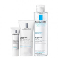 La Roche-Posay Набор Субстиан+ Крем 40 мл + Субстиан+ для контура глаз 15 мл + Мицеллярная вода для чувствительной кожи, 200 мл (La Roche-Posay, Substiane [+])
