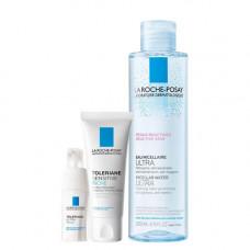 La Roche-Posay Набор Toleriane Sensitive Riche 40 мл + Toleriane Ultra Eyes 20 мл + Micellar water 200 мл (La Roche-Posay, Toleriane)