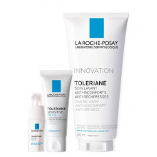 La Roche-Posay Набор Toleriane Sensitive Riche 40 мл + Toleriane Ultra Eyes 20 мл + Toleriane gel 200 мл (La Roche-Posay, Toleriane)
