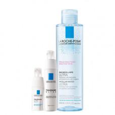 La Roche-Posay Набор Toleriane Ultra 40 мл + Toleriane Ultra Eyes 20 мл + Micellar water 200 мл (La Roche-Posay, Toleriane)