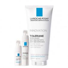 La Roche-Posay Набор Toleriane Ultra Fluid 40 мл + Toleriane Ultra Eyes 20 мл + Toleriane gel 200 мл (La Roche-Posay, Toleriane)
