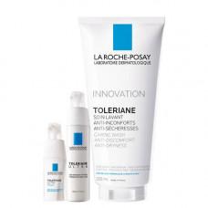 La Roche-Posay Набор Toleriane Ultra40 мл + Toleriane Ultra Eyes 20 мл + Toleriane gel 200 мл (La Roche-Posay, Toleriane)