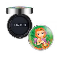 LIMONI, Тональный флюид-кушон All Stay Cover Jungle Princess №01, Light