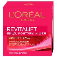 """L'ORÉAL PARIS Антивозрастной крем """"Ревиталифт"""" против морщин для лица, контуров и шеи"""