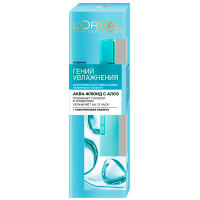 L`OREAL Аква-флюид для лица для нормальной и склонной к сухости кожи Гений Увлажнения