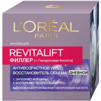 """L`OREAL PARIS Дневной антивозрастной крем """"Ревиталифт Филлер [ha]"""" против морщин, для лица"""