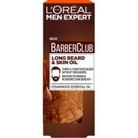 L'OREAL PARIS Men Expert Barber Club Гель-масло для длинной бороды, смягчающее, с маслом кедрового дерева