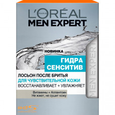 """L'OREAL PARIS Men Expert Лосьон после бритья """"Гидра Сенситив"""" для чувствительной кожи"""