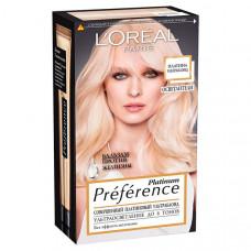 "L'OREAL PARIS Стойкая краска для волос ""Preference, Платина Ультраблонд"""