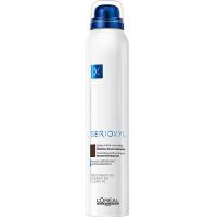 LOREAL PROFESSIONNEL Спрей-камуфляж цветной для истонченных волос, оттенок брюнет / СЕРИОКСИЛ 200 мл