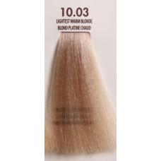 MACADAMIA Natural Oil 10.03 краска для волос, платиновый теплый блондин / MACADAMIA COLORS 100 мл