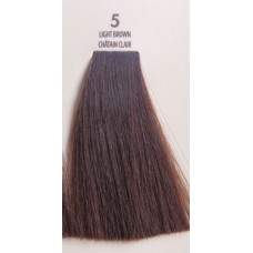 MACADAMIA Natural Oil 5 краска для волос, светлый каштановый / MACADAMIA COLORS 100 мл