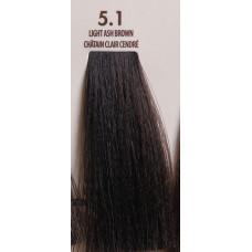 MACADAMIA Natural Oil 5.1 краска для волос, светлый пепельный каштановый / MACADAMIA COLORS 100 мл