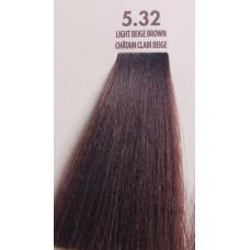MACADAMIA Natural Oil 5.32 краска для волос, светло бежевый каштановый / MACADAMIA COLORS 100 мл