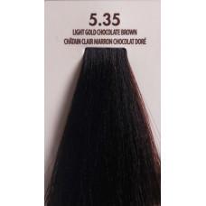 MACADAMIA Natural Oil 5.35 краска для волос, светлый золотистый шоколадный каштановый / MACADAMIA COLORS 100 мл