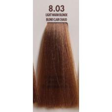 MACADAMIA Natural Oil 8.03 краска для волос, светлый теплый блондин / MACADAMIA COLORS 100 мл
