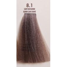 MACADAMIA Natural Oil 8.1 краска для волос, светло пепельный блондин / MACADAMIA COLORS 100 мл