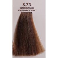MACADAMIA Natural Oil 8.73 краска для волос, светлый шоколадный блондин / MACADAMIA COLORS 100 мл