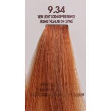 MACADAMIA Natural Oil 9.34 краска для волос, очень светлый золотистый медный блондин / MACADAMIA COLORS 100 мл