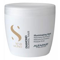 Маска для нормальных волос, придающая блеск Semi Di Lino Diamond Illuminating Mask 500мл: Маска 500мл