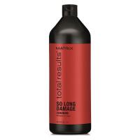 MATRIX Шампунь с керамидами для восстановления ослабленных волос / SO LONG DAMAGE 1000 мл