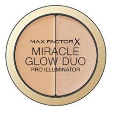 MAX FACTOR Хайлайтер MIRACLE GLOW DUO 20 MEDIUM