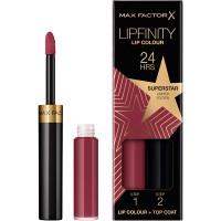 MAX FACTOR Стойкая губная помада и увлажняющий блеск Lipfinity Lip Colour