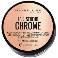 "MAYBELLINE NEW YORK Гелевый хайлайтер ""Face Studio Chrome"""