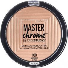"""MAYBELLINE NEW YORK Хайлайтер для лица """"Master Chrome"""" для сияния кожи"""