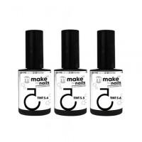 Nano Professional, Набор Make up for nails, Tint summer set