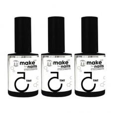 Nano Professional, Набор Make up for nails, Tint winter set