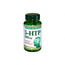 Nature`s Bounty 5-гидрокситриптофан 100 мг 60 капсул (Nature`s Bounty, Витамины)