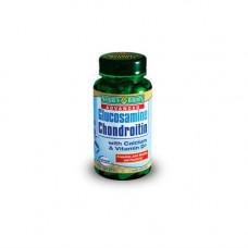 Nature's Bounty Глюкозамин-хондроитин плюс с кальцием и витамином D в таблетках, 120 шт. (Nature's Bounty, Витамины)