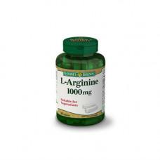 Nature`s Bounty L-аргинин 1000 мг 50 таблеток (Nature`s Bounty, Витамины)