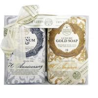NESTI DANTE Набор мыла для тела (юбилейное золотое + юбилейное платиновое) / Anniversary Platinum & Gold 2*250 г