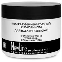 NEW LINE PROFESSIONAL Пилинг ферментативный с папаином для всех типов кожи 300 мл
