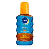 """NIVEA Солнцезащитное масло-спрей для загара """"Защита и загар"""" СЗФ 30"""