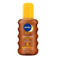 NIVEA Увлажняющее масло-спрей для загара 6