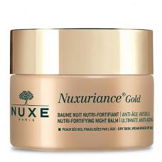 Nuxe Питательный укрепляющий антивозрастной ночной бальзам для лица Baume Nuit Nutri-fortifiant, 50 мл (Nuxe, Nuxuriance Gold)