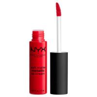 NYX Professional Makeup Матовая жидкая помада-крем с металлическим финишем. SOFT MATTE LIP CREAM