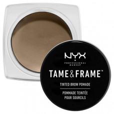 NYX Professional Makeup Помада для бровей. TAME & FRAME TINTED BROW POMADE