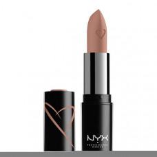 NYX Professional Makeup Помада для губ увлажняющая с сатиновым финишем SHOUT LOUD SATIN LIPSTICK
