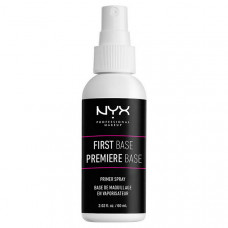 NYX Professional Makeup Спрей-праймер для лица. FIRST BASE MAKEUP PRIMER SPRAY