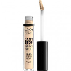 NYX Professional Makeup Стойкий жидкий консилер для лица. CAN'T STOP WON'T STOP CONTOUR CONCEALER