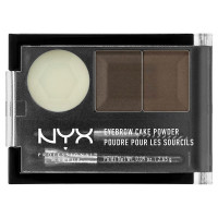 NYX Professional Makeup Тени для бровей. EYEBROW CAKE POWDER